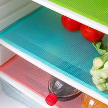 4片装 可裁剪抗菌防污冰箱垫 防霉抗菌吸潮易清洗图片