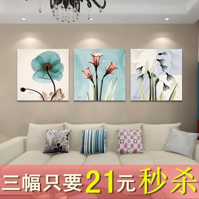 大幅客厅三联画