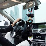 汽车挂件葫芦车内吊饰男女保平安符吊坠摆件高档车载后视镜挂饰品