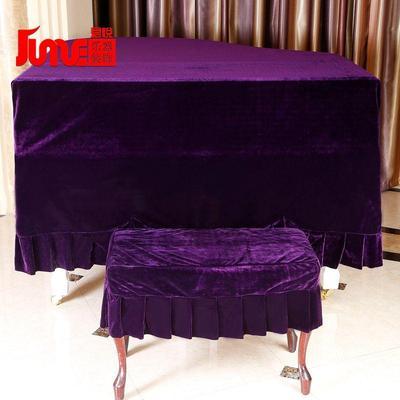 金丝绒加厚细绒三角钢琴罩防尘罩钢琴套三角钢琴防尘钢琴套