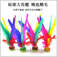 Feather duster adult fitness plastic tendon high elasticity resistant kick kindergarten children primary school competition training dedicated