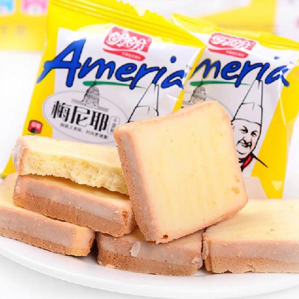 盼盼梅尼耶干蛋糕曲奇饼干面包干柠檬奶香味早餐糕点休闲零食包邮
