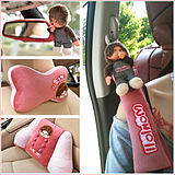Car seat belt shoulder cover cute South Korea seat belt suit pair lengthened cartoon cute monkey car interior girl