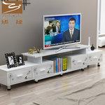 简易电视柜茶几组合现代简约小户型卧室电视机柜伸缩迷你客厅地柜