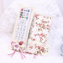 Household Air Condit Lace Bags Remote Storage Control Flower