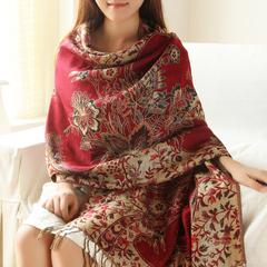 棉麻柔软围巾