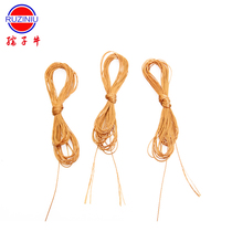 Cattle Hand woven cotton slippers tow hook shoe line shoe line sewing shoe line DIY waterproof sole shoe line