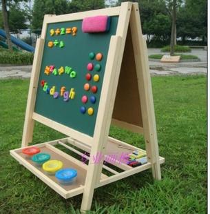 大号双面磁性家用教学小黑板白板 涂鸦画板写字板 六一儿童节礼物
