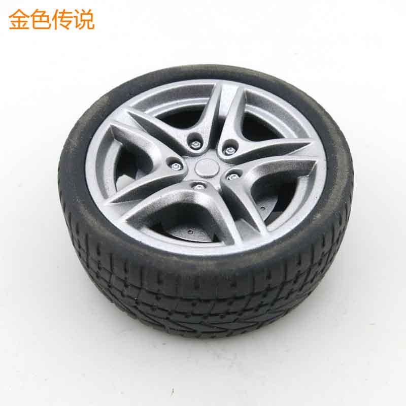 40/48 mm simulation wheel 1:10 car tire hub rubber
