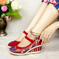 女士七彩女鞋