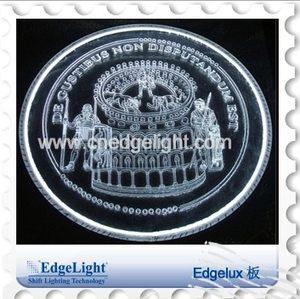 Edgelight边光 导光板亚克力定制 超薄灯箱导光板型材配件可