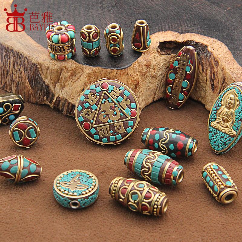 手工尼泊尔铜珠