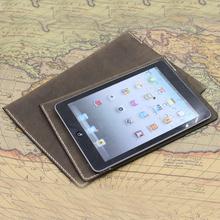 瘋馬皮iPadAir保護套iPadmini4/3/2真皮收納包內膽包袋皮套包郵