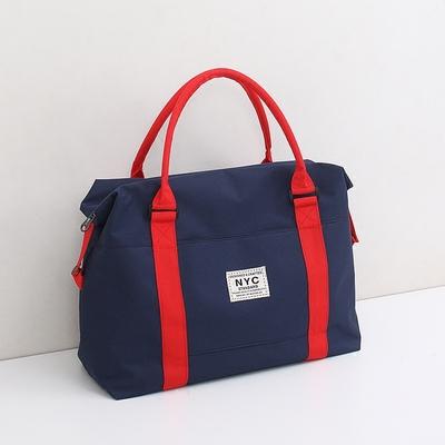 短途旅行袋手提女轻便大容量装衣服单肩待产包男多功能行李登机包
