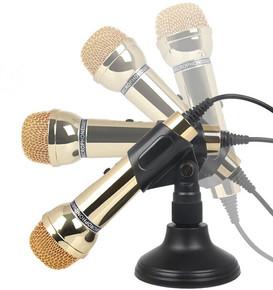 Somic/声丽 SM-098电脑有线麦克风YY语音网络K歌录音手机唱吧话筒