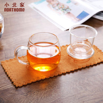 小北家NORTHOME 超细纤维 加厚 茶巾茶垫杯垫吸水巾擦拭布不掉毛