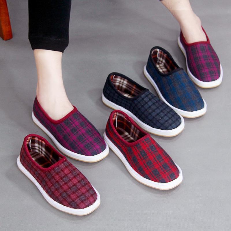 保暖平底鞋单鞋