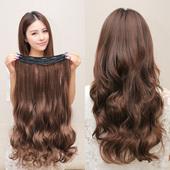 长卷发片假发片 大波浪假发片隐形一片式 长发片假发女无痕接发