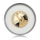纪念币 创新美国硬币 全新卷拆品相 自由女神 美国1元 女神头像