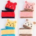 2岁宝宝帽子围巾套装
