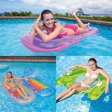 新款充气浮床加厚水上冲浪漂流躺椅充气床浮排泳圈水下漂浮坐椅床
