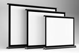 极米微型投影仪桌面幕布SAMPLE 40寸4:3便携投影机可移动商务会