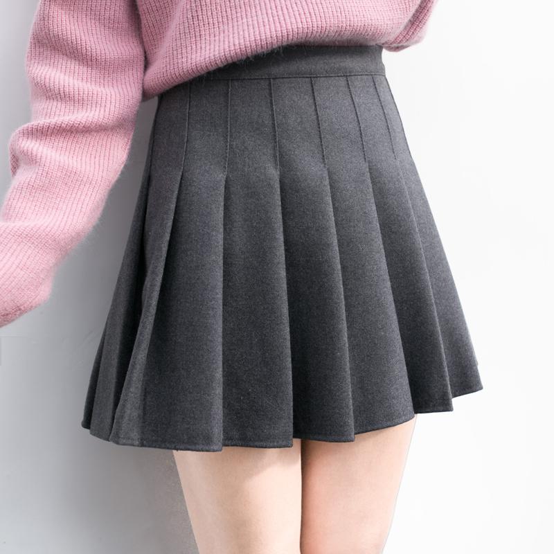 蓬蓬冬裙毛