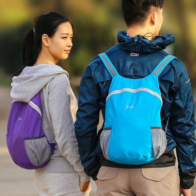皮肤包旅行双肩包男女款超轻运动包可折叠登山包户外便携双肩背包