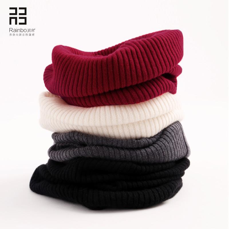 黑色针织围巾