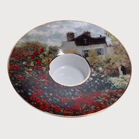 德国高宝Goebel进口欧式家居装饰陶瓷香薰烛台摆件艺术品陶瓷摆件