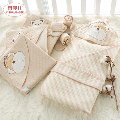 新生儿抱被初生婴儿包被夏季薄款保暖春秋抱毯宝宝用品襁褓小被子