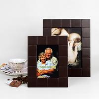 品地甜蜜浪漫巧克力质感长方形8寸、6寸相框