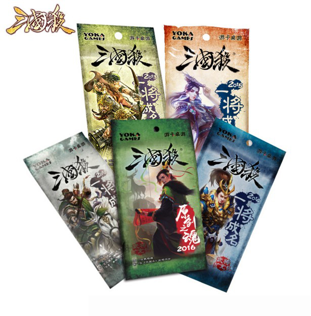 Three Kingdoms Kill one will become famous 2016 military commander expansion package full set one will 12