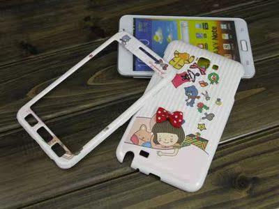 韩国n7000手机壳三星i9220保护套 NOTE1全包前后盖i9228外壳薄