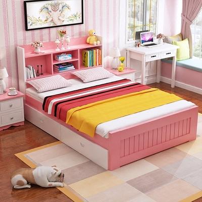 单松木双人床排行