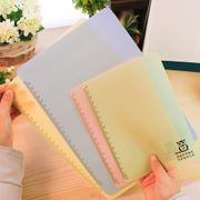 -Students jelly candy color scale blank silicone soft writing special pad test writing pad A4 A5