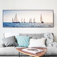 新款粘贴十字绣客厅唯美大海风景5D钻石画卧室床头挂画砖石贴满钻
