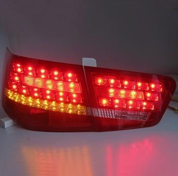 适用于09-12起亚福瑞迪尾灯总成全LED行车灯转向灯刹车灯改装总成