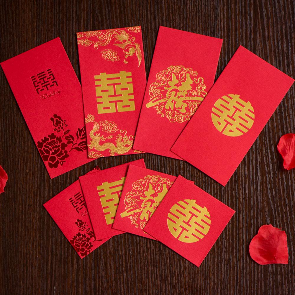 2017创意婚礼结婚红包 红包袋 利是封 改口小红包婚庆用品 20个装