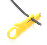 小黄色打线刀剥线工具 剥线器 电话线网线打线刀拨线刀掐线