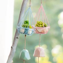 萌动物风铃挂饰 创意日式铃铛挂件 天花板门窗饰女生房家居装饰品