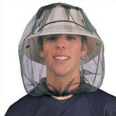 户外徒步野外露营旅游防蚊虫套头蚊帐帽钓鱼防蚊虫网纱帽不含帽子