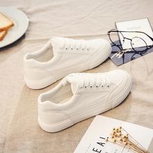 百搭小白鞋透气2018春季新款布鞋夏季帆布鞋女学生韩版1992板鞋子