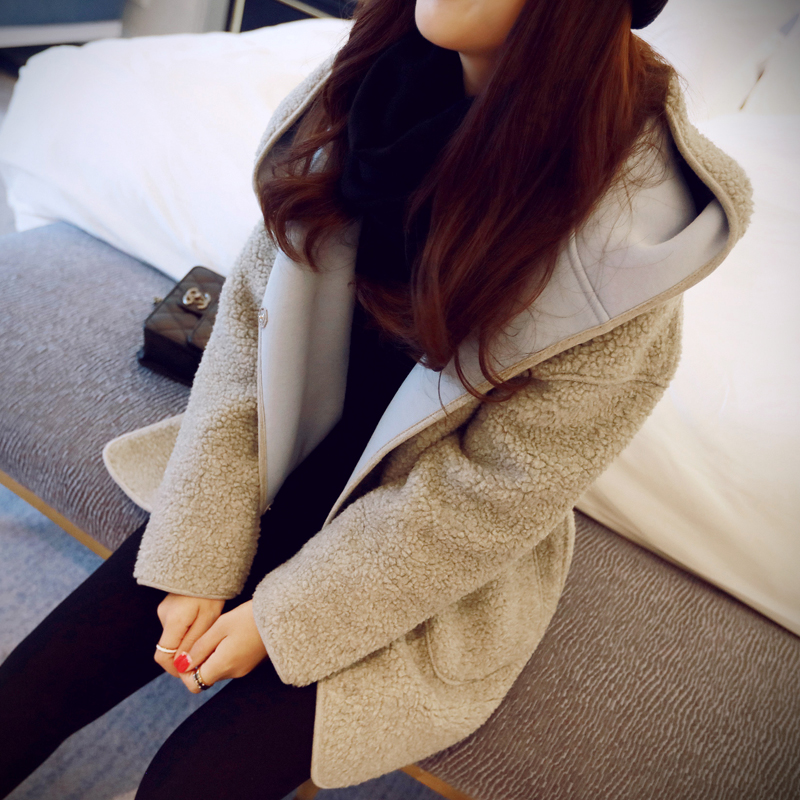 19 autumn and winter new Korean version of the Hong Kong style loose cotton clothing couple
