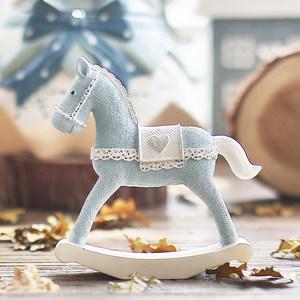 米子家居 创意生日礼物北欧风格客厅酒柜桌面装饰品摆设 麋鹿摆件