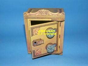 n【新翔精品纸模型】保险柜 保险箱 家具 柜子生活物品模型
