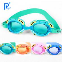 瑞和正品 兒童泳鏡防水防霧男女通用卡通螃蟹休閑游泳眼鏡廠家批發