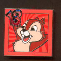 Disney Disney Coats of Arms - 2013 Squirrel The Chipmunks 2