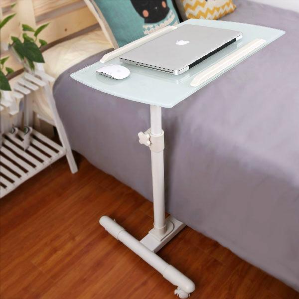 移动电脑桌床边桌包邮
