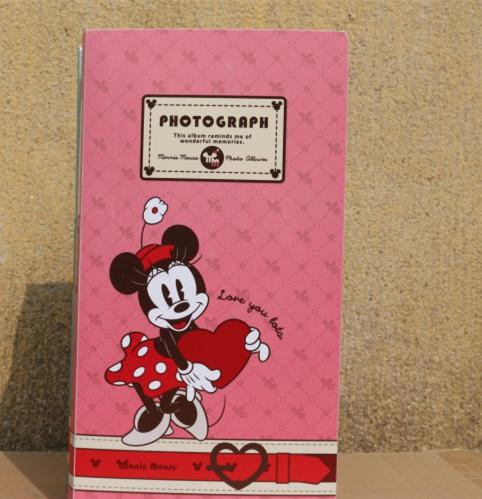 包邮 3R 5寸相册360张卡通儿童宝宝册家庭影集 插页式大容量相薄